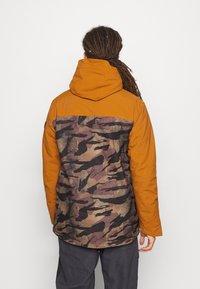 O'Neill - TEXTURE JACKET - Snowboard jacket - glazed ginger - 2