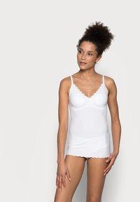 Skiny - DAMEN SPAGHETTI - Undershirt - white - 1