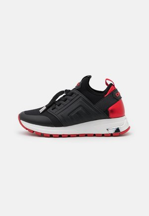 MISTI LACE UP  - Sneaker low - black/red