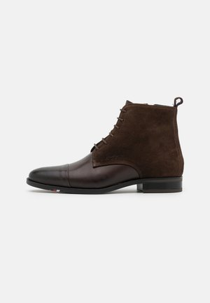 MID MIX BOOT - Bottines à lacets - cocoa