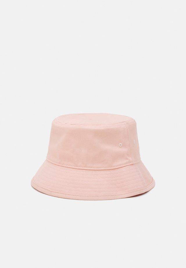 BUCKET HAT UNISEX - Hattu - vapour pink/white