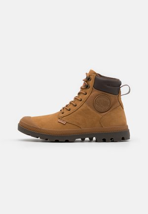 PAMPA SHIELD WP+ LUX UNISEX - Lace-up ankle boots - mahogany