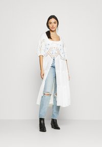 Free People - DELILAH EMBROIDERED MAXI - Bluser - ivory combo - 1