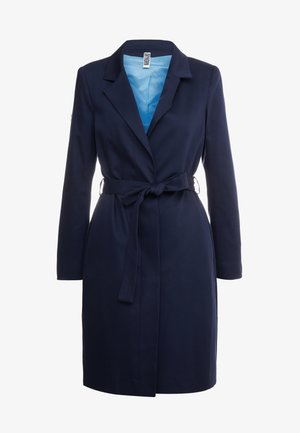 PLYMOUTH - Trenchcoat - navy