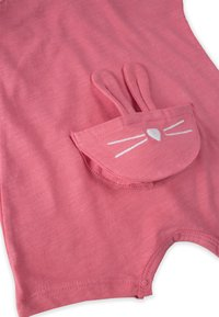 Cigit - RABBIT EMBROIDERY  - Dungarees - coral - 2