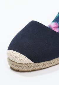 Anna Field - Wedge sandals - navy - 5