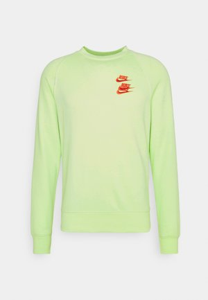 Sweatshirt - light liquid lime