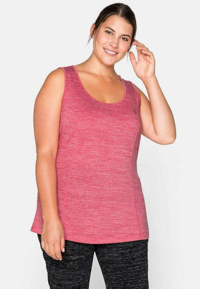 T-shirt sportiva - mottled pink
