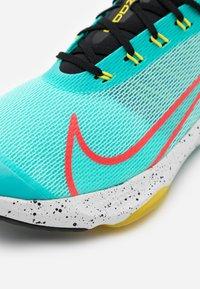 Nike Performance - AIR ZOOM SPEED - Neutral running shoes - aurora green/laser crimson/black/optic yellow - 5