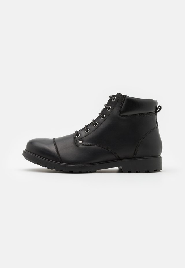 RHADALF - Šněrovací kotníkové boty - black