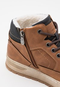 TOM TAILOR - High-top trainers - cognac - 5
