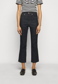 Tory Burch - CROPPED - Bootcut jeans - resin rinse - 0