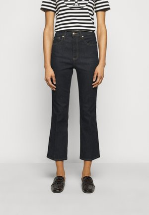 CROPPED - Bootcut jeans - resin rinse