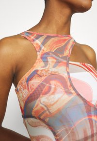 Jaded London - HOLE CUT OUT DOUBLE LAYER DRESS MIX ABSTRACT ART - Kjole - multi - 5