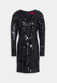 HUGO - KELIAS - Cocktail dress / Party dress - black - 4