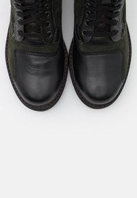 G-Star - DUTY UTILITY BOOT - Lace-up ankle boots - dark combat/black - 5