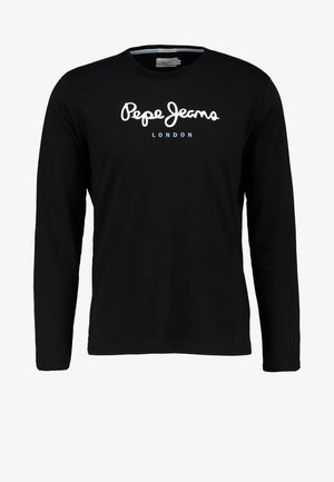 EGGO LONG - Langarmshirt - black
