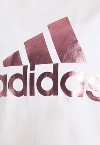 adidas Performance - UNIVVOL TEE - T-shirt z nadrukiem - white - 5