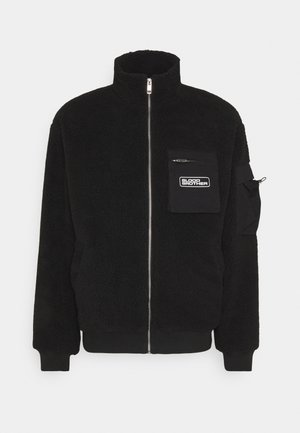 SHIRLEY  - Fleece jacket - black