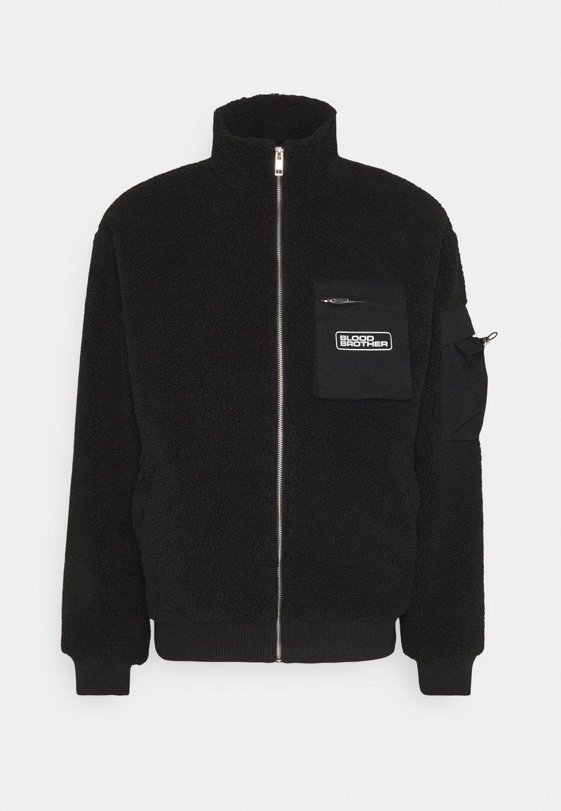 Blood Brother - SHIRLEY  - Fleece jacket - black