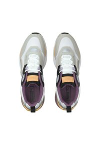 Puma - MIRAGE MOX TECH VEGAN UNISEX - Sneakers laag - white gray violet - 4