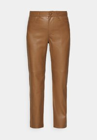 VESTINE TROUSERS - Trousers - camel