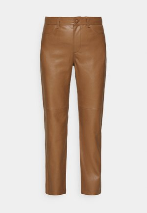 VESTINE TROUSERS - Trousers - camel