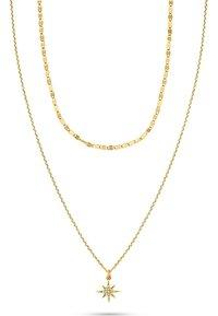 QOOQI - Necklace - gelbgold - 0
