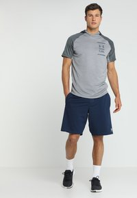 Under Armour - SPORTSTYLE SHORT - Träningsshorts - academy/onyx white - 1