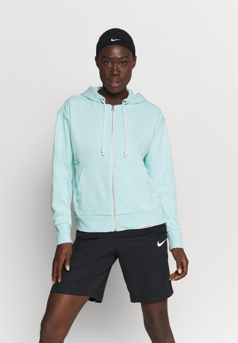 Nike Performance - STANDARD ISSUE HOODIE - Zip-up hoodie - light dew/pale ivory