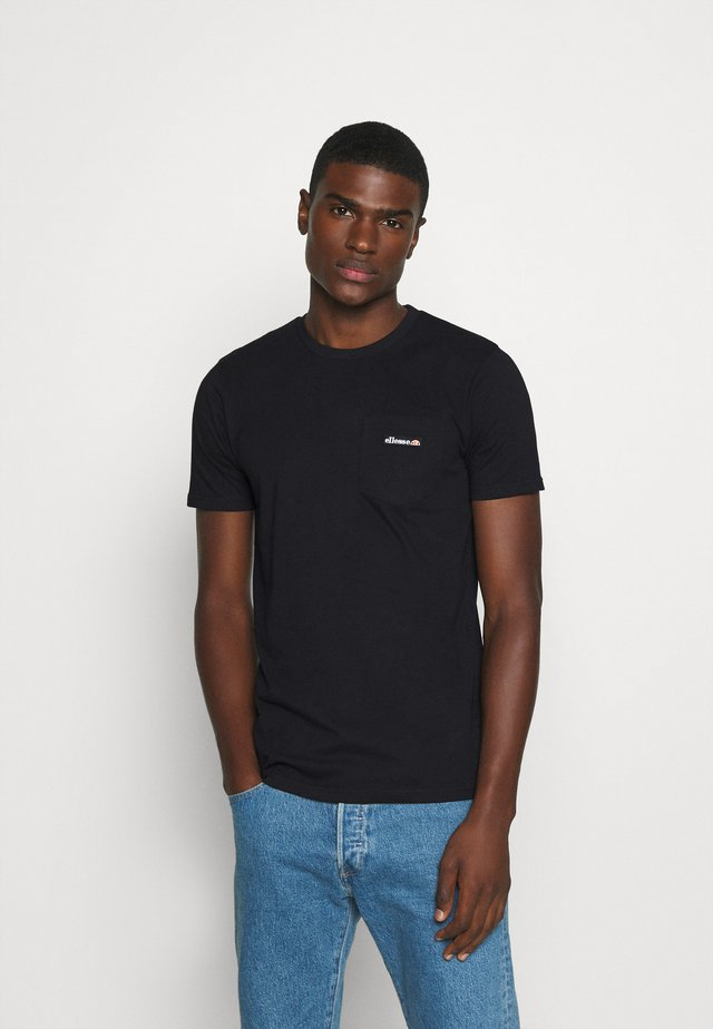 MELEDO - T-shirt basique - black