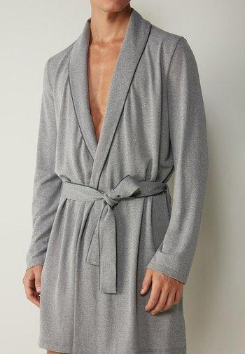 MORGEN - Dressing gown - mid grey blend