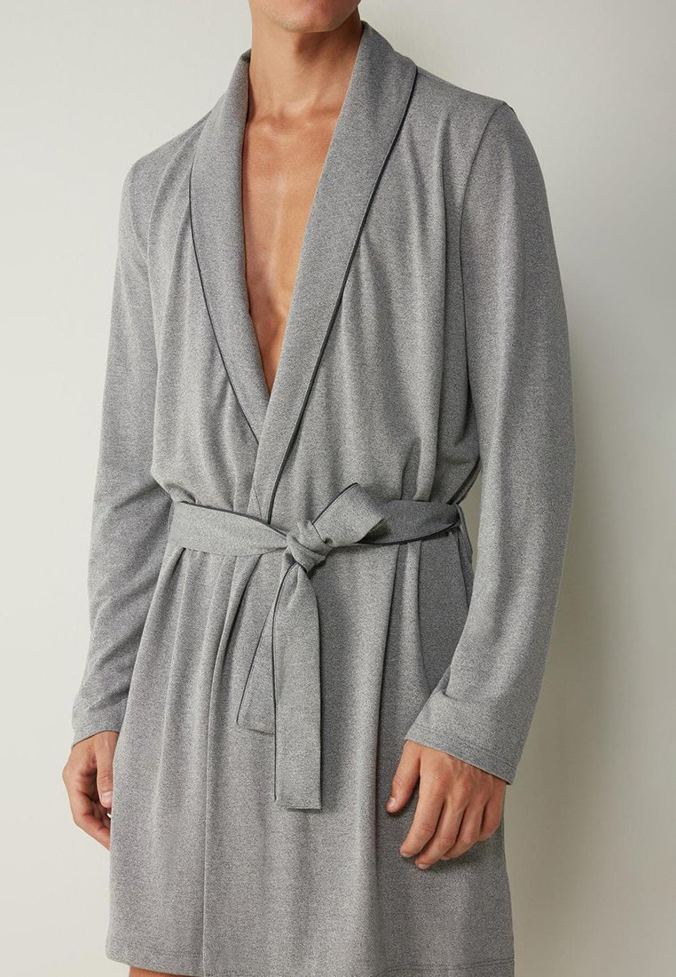 Intimissimi - MORGEN - Dressing gown - mid grey blend