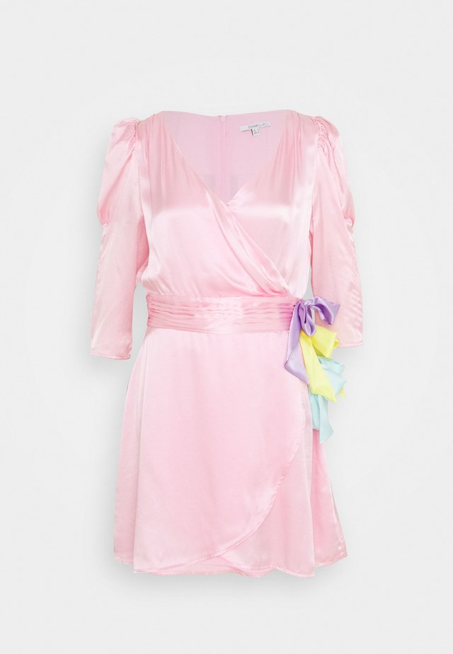 REN DRESS - Korte jurk - pink