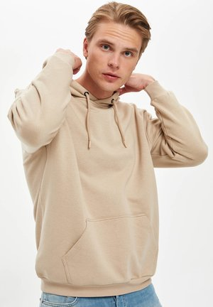 OVERSIZED - Sweat à capuche - Ecru