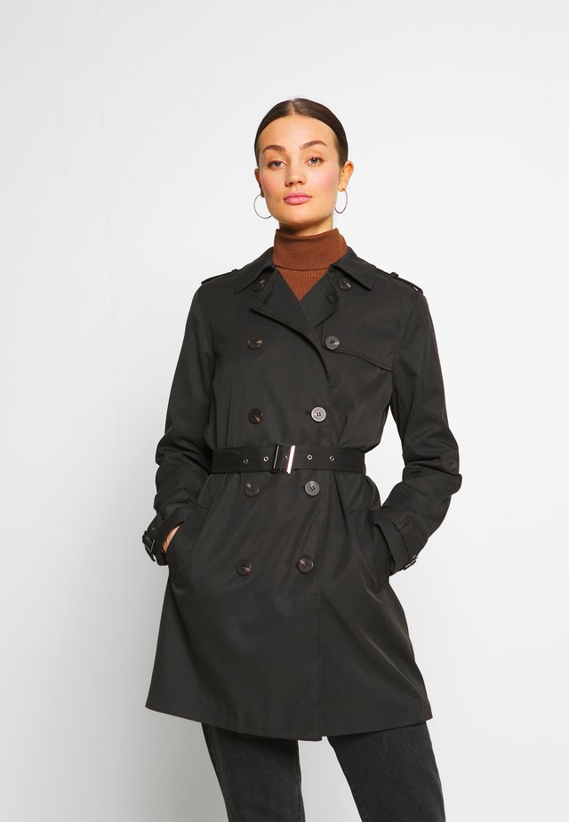 VIMOVEMENT - Trenchcoat - black