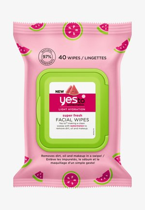 WATERMELON SUPER FRESH FACIAL WIPES 2 PACK - Hudplejesæt - -