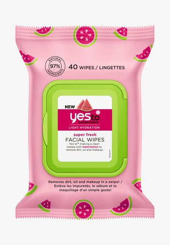 WATERMELON SUPER FRESH FACIAL WIPES 2 PACK