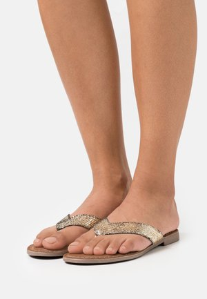 Flip Flops - gold
