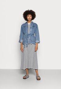 Marc O'Polo - JERSEY DRESS - Jersey dress - multi/dark blue - 1