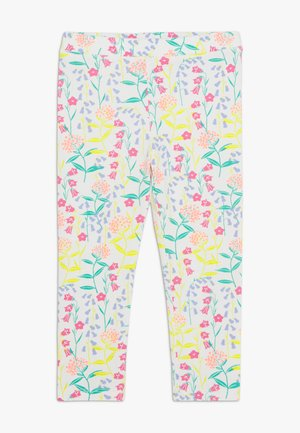 BOTTOMS PANTS - Leggings - Trousers - coral/aqua