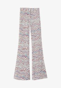 PULL&BEAR - Trousers - mottled beige - 5