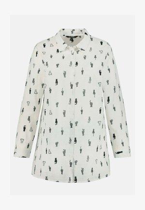 Button-down blouse - sneeuwwit