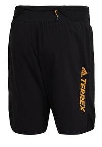 adidas Performance - Pantalón corto de deporte - black - 9