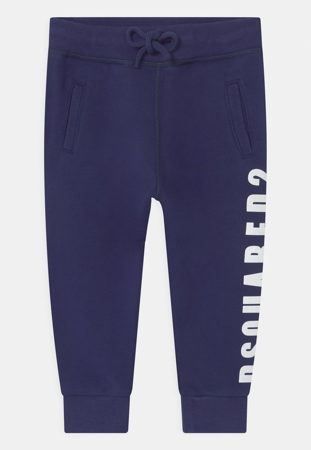 UNISEX - Tracksuit bottoms - dark blue