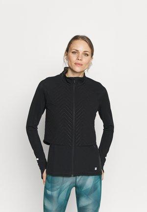 FAST TRACK PADDED RUNNING JACKET - Sports jacket - black