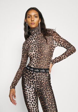 KOBY - Long sleeved top - leo tanned