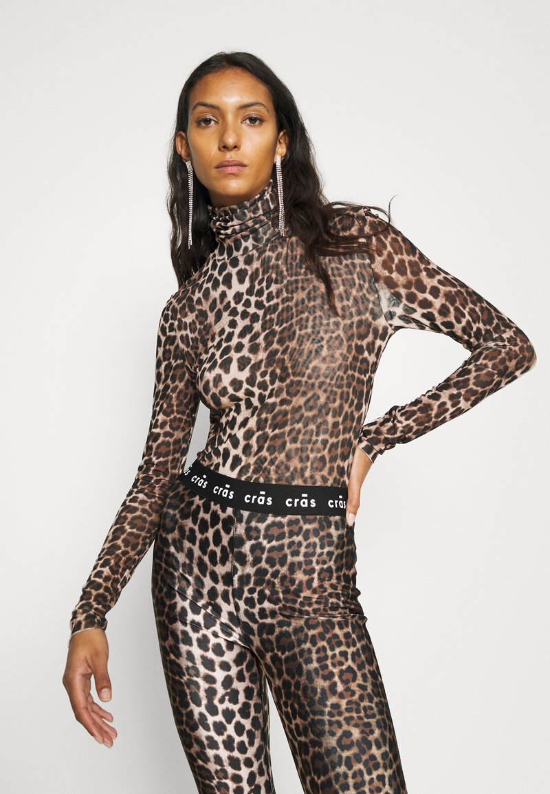 Cras - KOBY - Long sleeved top - leo tanned