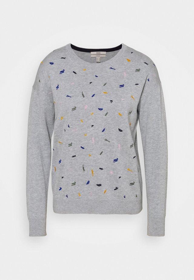 EMBRO - Pullover - light grey