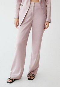 Violeta by Mango - Trousers - rosa - 0